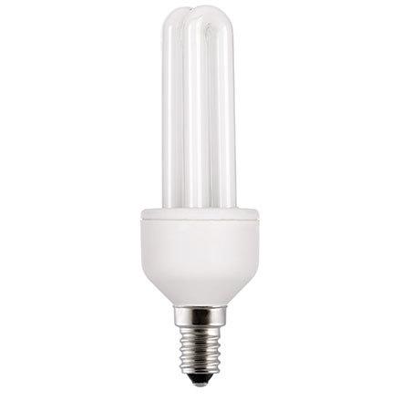 Kompakt fénycső 230V 11W E14 F82 7000h 2700K meleg
