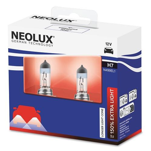 Halogén fényszóró izzó  GE H7 Megalight Ultra +90% 12V  55W PX26d 58520SXU