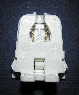 T5 fénycső foglalat csavarozható