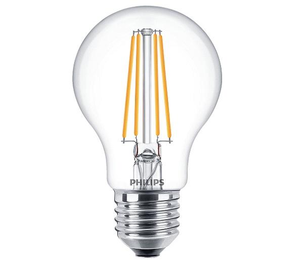 Philips LED Classic 6W E27 (~60W)  2700K