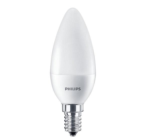 Pila LED Gyertya 5,5W E27 (~40W)