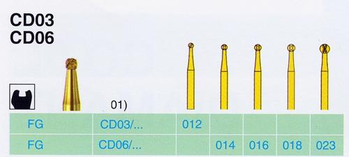 CD 03/012 FG gyémánt csiszoló