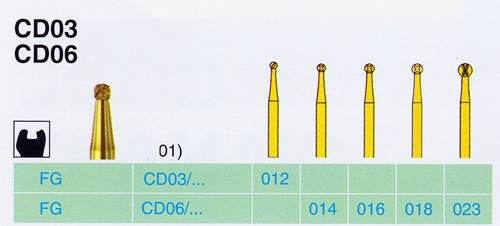 CD 06/014 FG gyémánt csiszoló  <span style=
