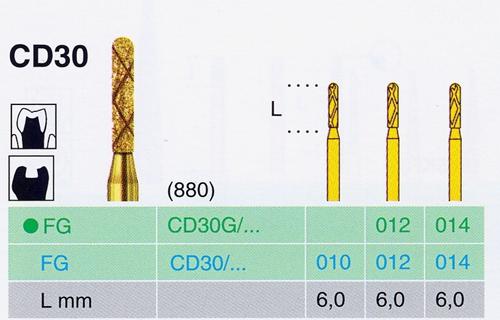 CD 30G/014 FG gyémánt csiszoló - </b>Raktáron