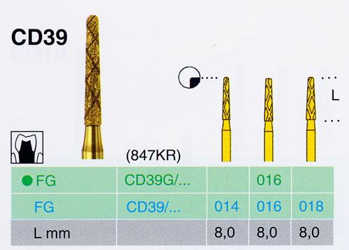 CD 39G/016 FG gyémánt csiszoló - </b>Nincs készleten, rendelhető