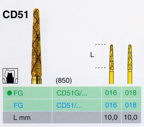 CD 51G/016 FG gyémánt csiszoló