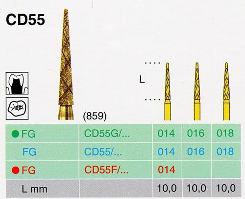 CD 55G/014 FG gyémánt csiszoló