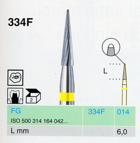 334F/014 FG keményfém finírozó <span style=