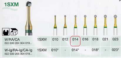 1SXM/014 W keményfém fúró vékonyított nyakkal - </b>Raktáron