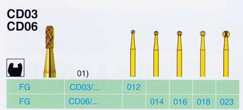 CD 06/016 FG gyémánt csiszoló - </b>Raktáron