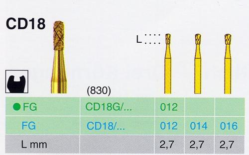 CD 18G/012 FG gyémánt csiszoló