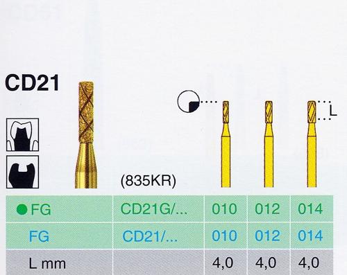 CD 21G/012 FG gyémánt csiszoló