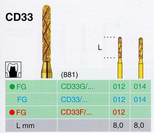 CD 33/014 FG gyémánt csiszoló