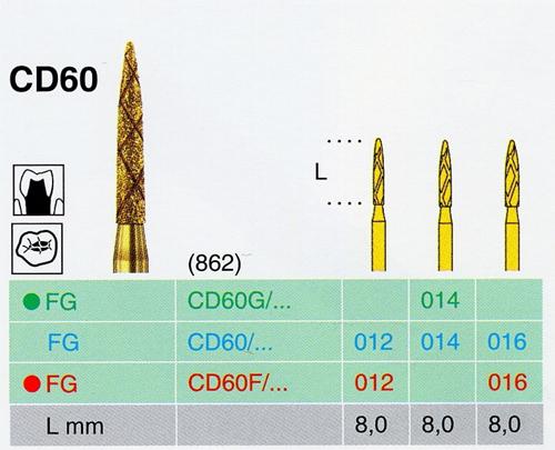 CD 60/016 FG gyémánt csiszoló