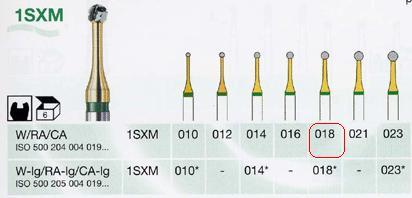 1SXM/018 W keményfém fúró vékonyított nyakkal