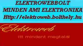 ELEKTROWEB Háztartási gépalkatrész webáruház partner logo