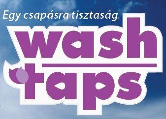 Wash Taps white  folyékony mosószer. Hazai mosószer és tisztítószer webáruház.