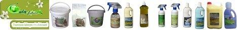 Hazai k�rnyezetbar�t mos�szer �s tiszt�t�szer web�ruh�z. Mos�szer, wc olaj, mos�por, mos�sz�da