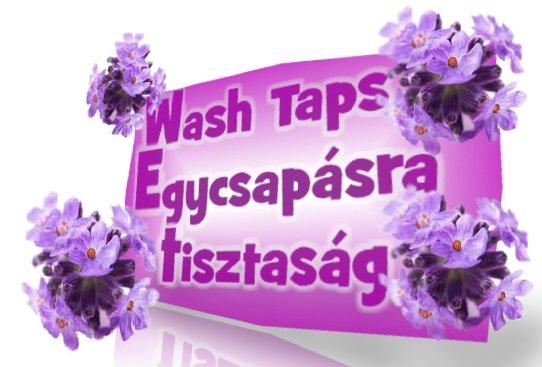Wash Taps egycsap�sra tisztas�g color foly�kony mos�szer 4,5 liter.