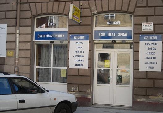 Szilikon bolt