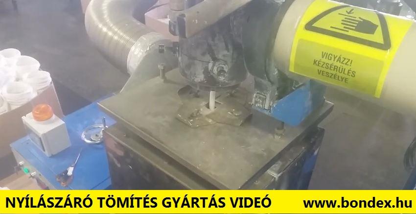 Nyílászáró tömítés gyártás Videó