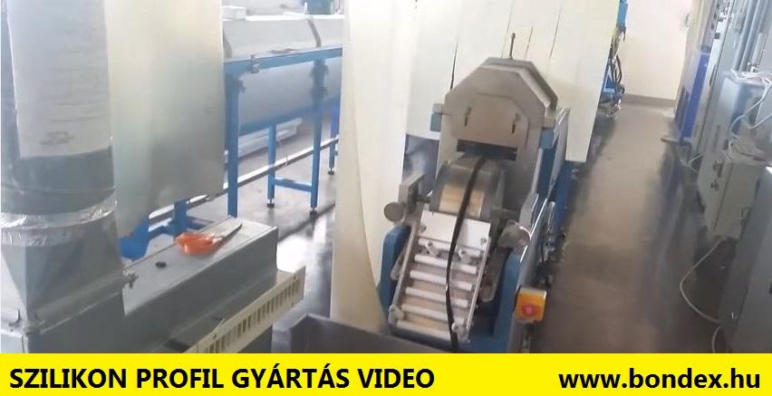 Szilikon profil gyártás videó