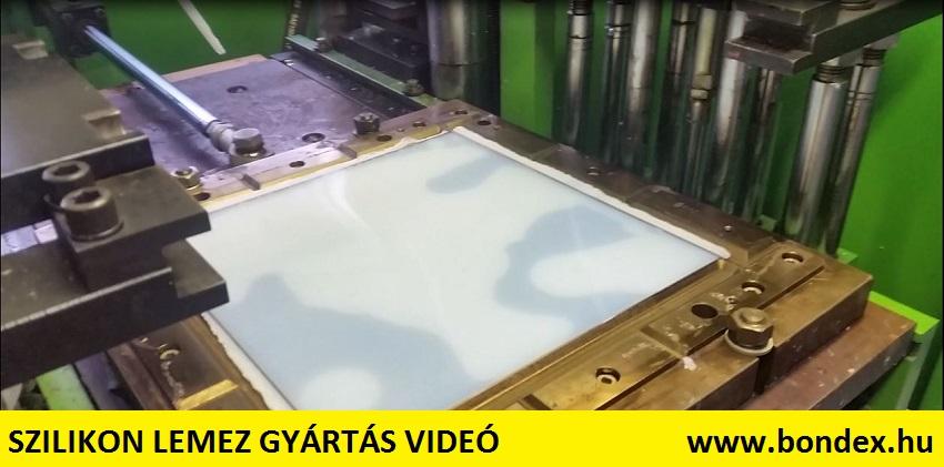 Szilikon lemez gyártás