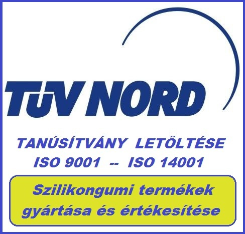 SZILIKON  GY�RT�S TAN�S�T�S LET�LT�SE                  ( T�V NORD ISO 9001 - ISO 14001 )