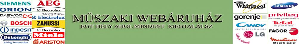muszakibizomanyi webáruház, webshop